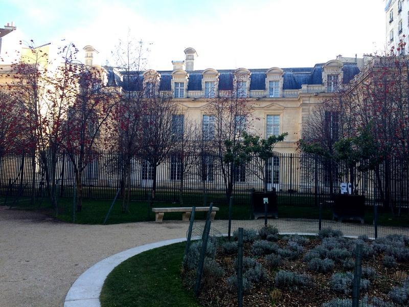 Square Anne Franck - Hôtel d'Aignan