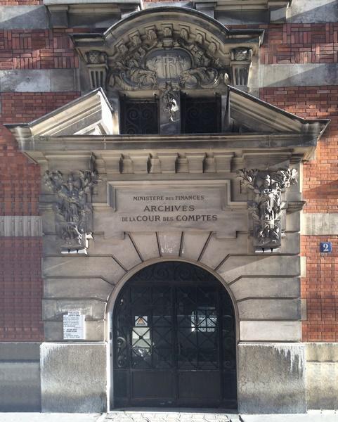 Archives de la Cour des Comptes