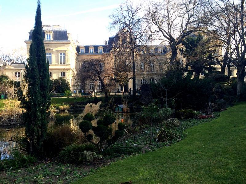 Parc Elie Wiesel - Mairie du IIIème