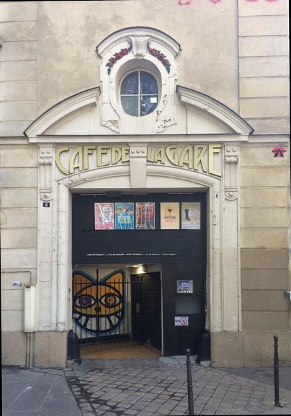 Café de la Gare - côté rue du Renard