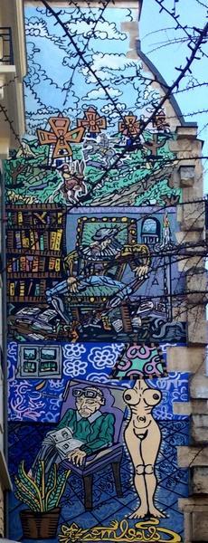 Street Art rue des Haudriettes