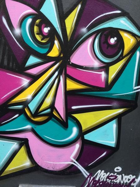 Street Art du Roi de Sicile