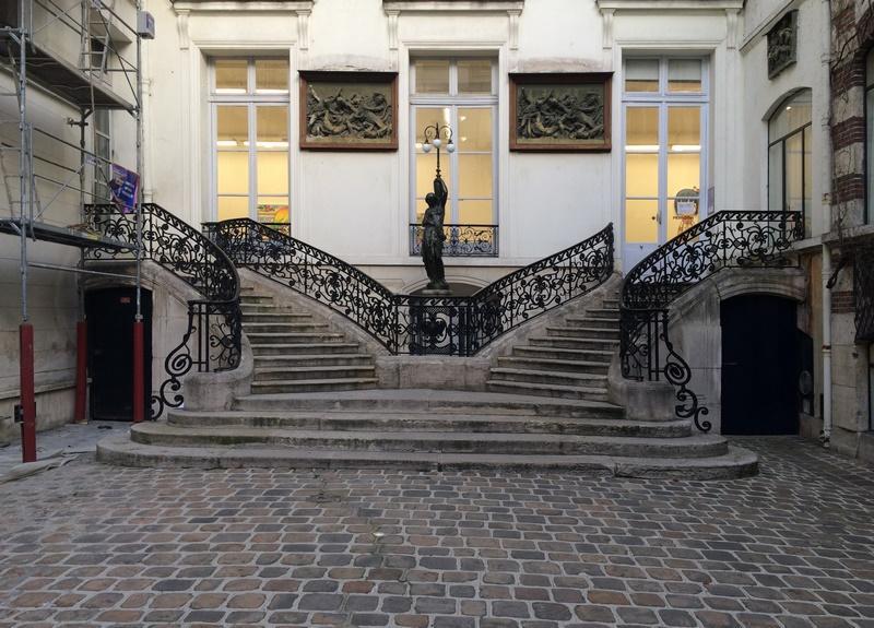 Cour du 70 rue de Turenne