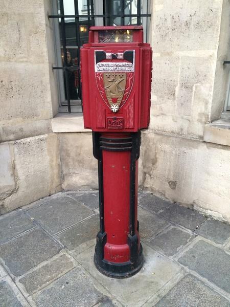 Dernier avertisseur Pompiers de Paris