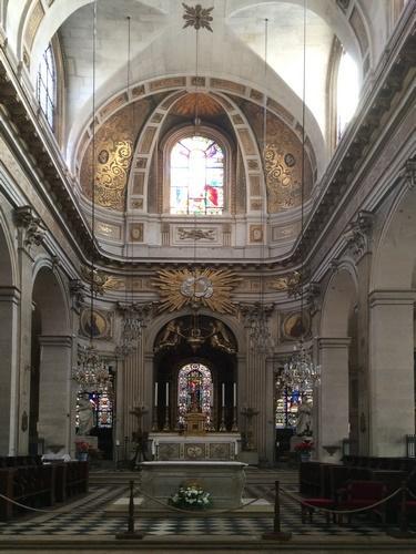 Eglise catholique Saint Louis en l'Ile