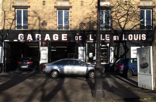 Garage de l'Ile Saint Louis