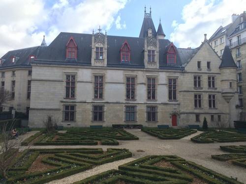 Hôtel de Sens - jardin