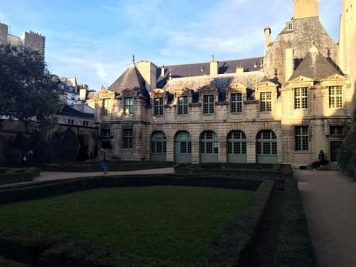 Hôtel de Sully - Fond du Jardin