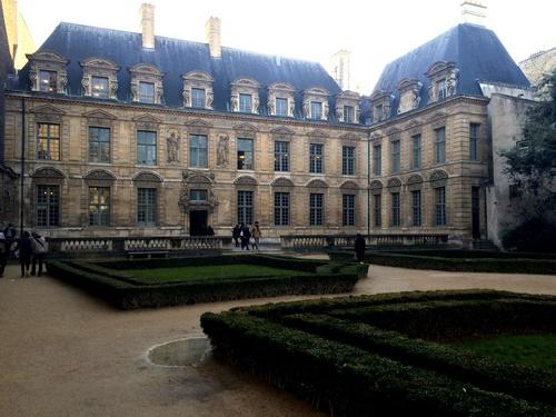 Hôtel de Sully - Façade jardin