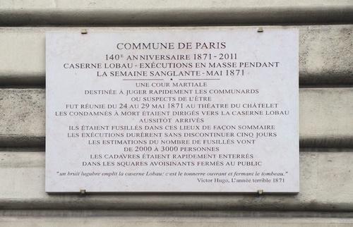 La Commune - Plaque