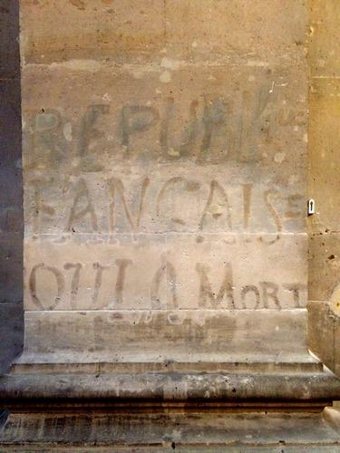"""Paroisse Saint-Paul Saint-Louis """"République Française ou la mort"""""""