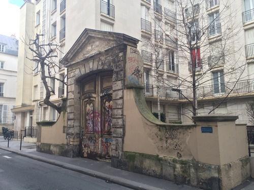 Portail de l'ancien Hôtel Raoul