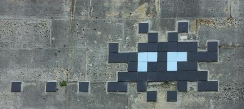 Space Invader - Quai de Bourbon